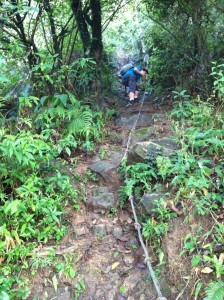 Use a slimy rope to scramble up this path? Fun times - I'm in!