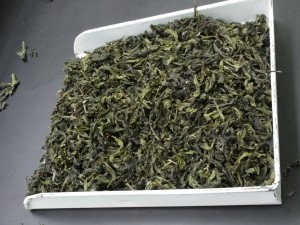 Teas are also judged by their appearance. Evenness throughout is important, as well as minimal presence of undesirables (bruised leaves, stems).